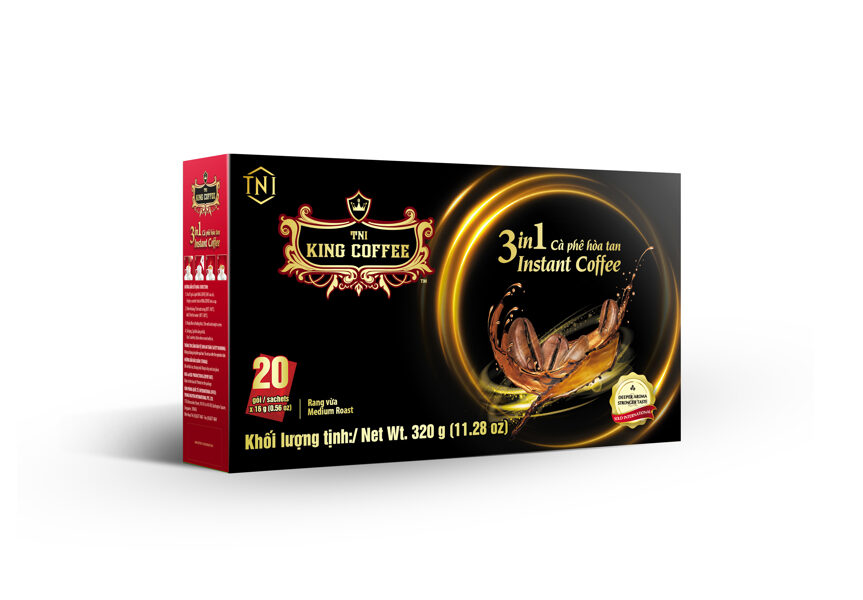 King Coffee 3 in1 Instant - 320g